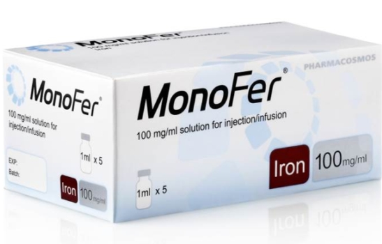 Monofer (Iron isomaltoside) Wholesaler, Distributor, Supplier